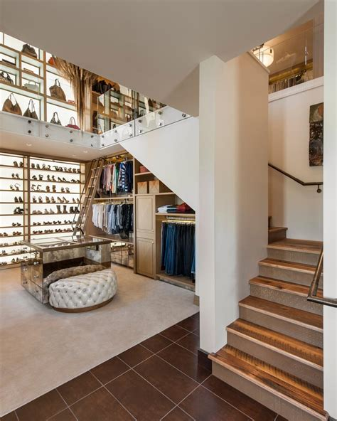 The Water Closet Story by Two Story Walk In Closet With Built In Home Office 2015