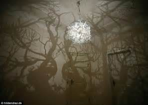 chandeliers that into the wall amazing chandelier inspired by nature turns a room in to a