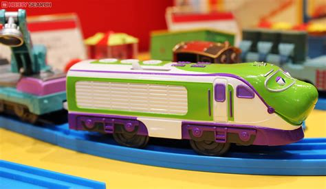 Doraemon New Car Set 18 In 2 chuggington plarail koko and hodge with freight cars set
