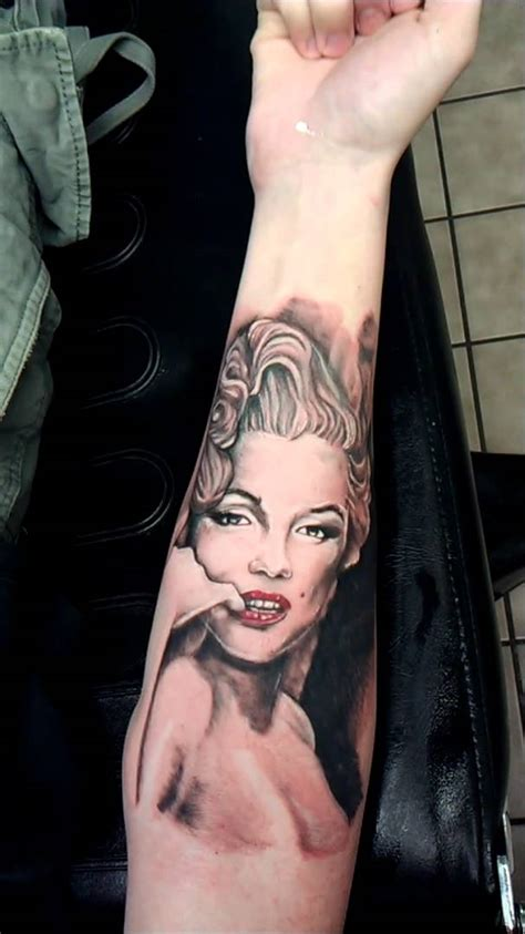tattoo nightmares marilyn monroe marilyn monroe tattoo by shadowink youtube