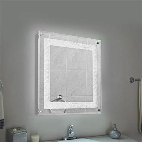 crystal bathroom mirror bright star polished chrome crystal bathroom mirror