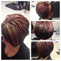 bob haircut with chunky highlites pinterest the world s catalog of ideas
