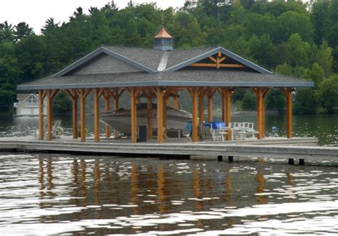 boat house kits house plans muskokan boathouse linwood custom homes