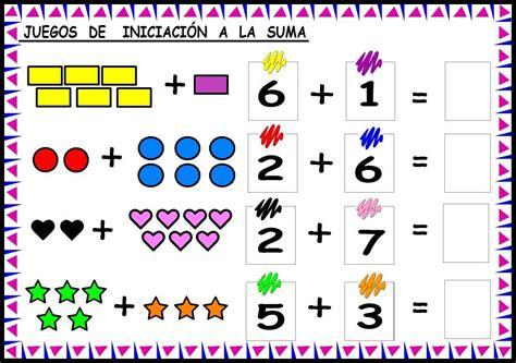 imagenes matematicas para niños preescolar fichas de iniciaci 243 n a las sumas