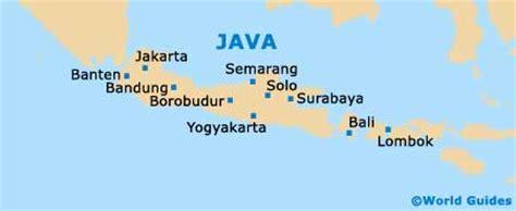 solo maps  orientation solo central java indonesia