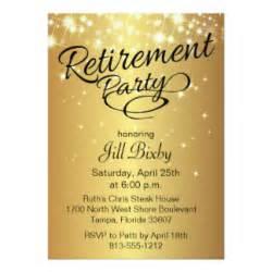 retirement party invitations amp announcements zazzle