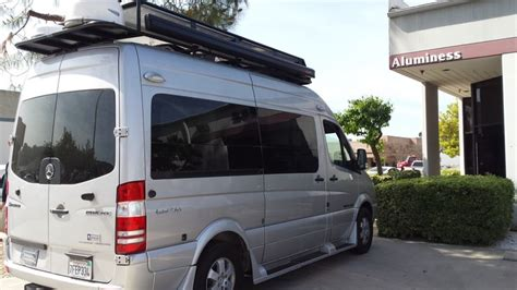 Roadtrek Awning by Roadtrek With Aluminess Roof Rack Custom Built To