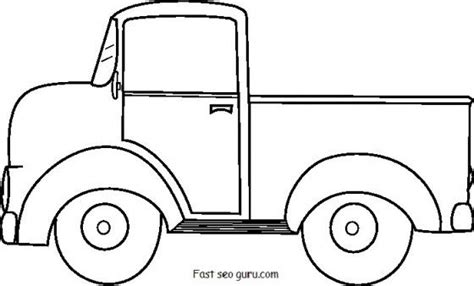 christmas truck coloring page 1000 images about vintage truck patterns on pinterest