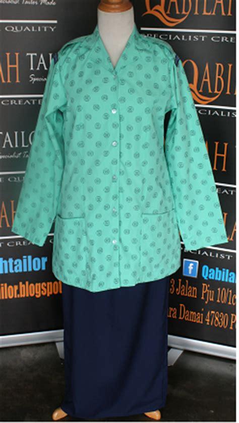 Baju Kawad Pemimpin Puteri Islam pakar jahitan pakaian kokurikulum sekolah