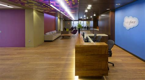 Salesforce Offices by Office Fit For Salesforce Overbury