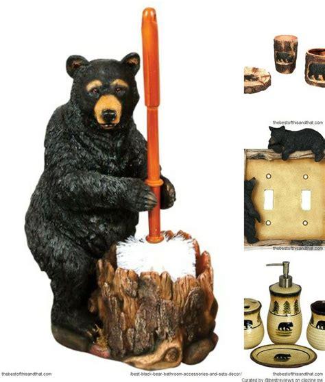 bear bathroom accessories black bear bathroom decor on black bear decor gifts black