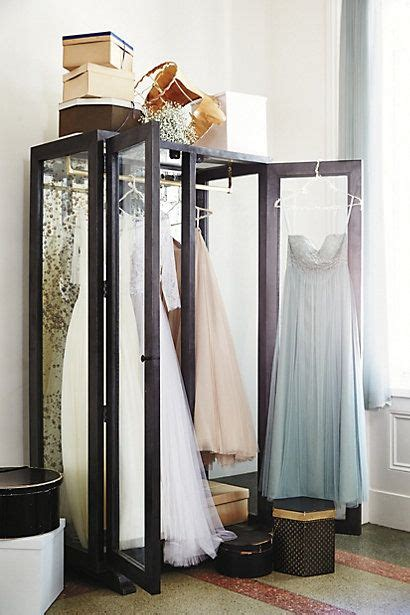 Display Armoire by Mirrored Display Armoire