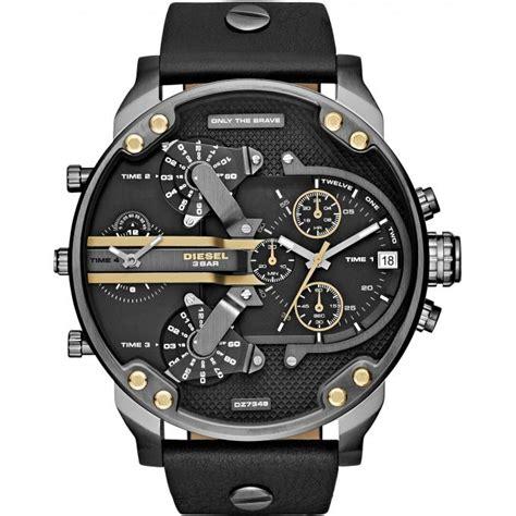montre diesel mr 2 0 dz7348 montre fuseaux multiples homme sur bijourama montre homme