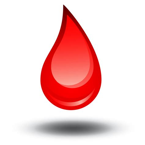 Blood Of A blood drop clipart