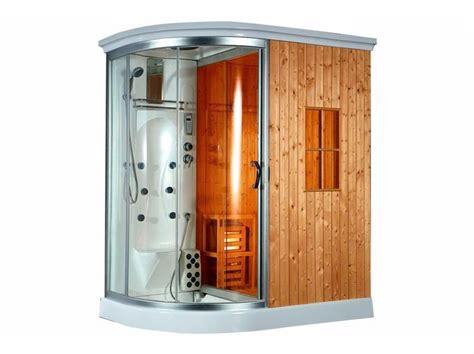 box doccia idromassaggio sauna box doccia con idromassaggio e sauna finlandese bl 612