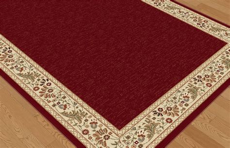 Orian Area Rugs Tayse Sensation Sns4740 Red Rug