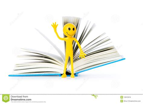 concept picture books education concept books and smilie royalty free stock