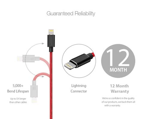 heavy duty metal braided lightning usb charger cable 1m 2m 3m for iphone x 7 6 5 ebay