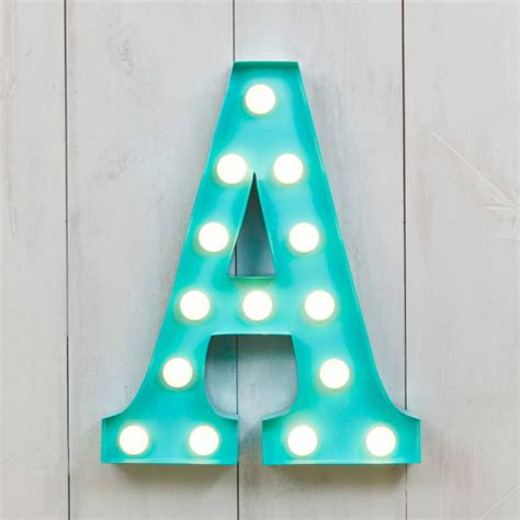 lettere a led vegas metal led circus letter light f by all things