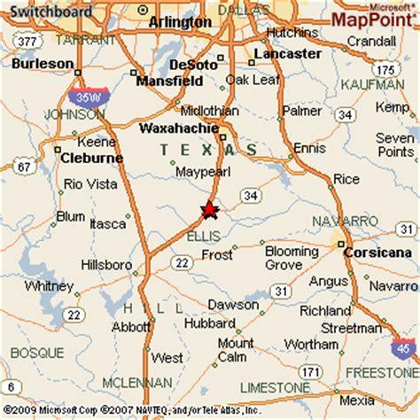 italy texas map italy texas