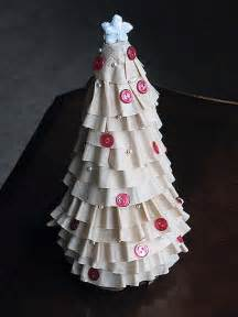 coffee filter christmas tree craft ideas pinterest