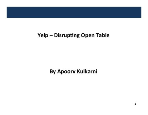 yelp vs opentable restaurant reservations