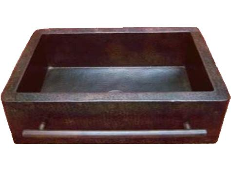 Copper Kitchen Sinks For Sale by Rustic Copper Farmhouse Kitchen Sink With Towel Bar