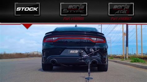 Charger Hellcat Exhaust by Borla Spruces Up The Charger Srt Hellcat With Loud Exhaust