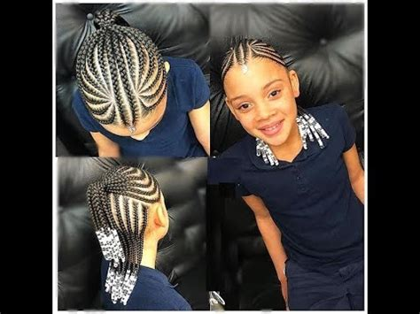kids cornrows styles 2018 : new collection for your little