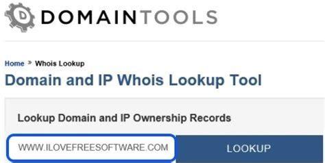 whois lookup websites