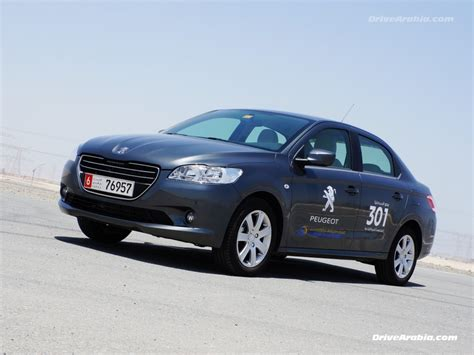 Drive 2013 Peugeot 301 In The Uae Drive Arabia
