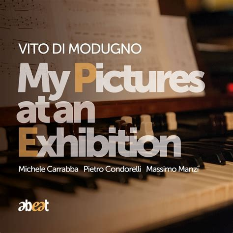 pictures at an exhibition book my pictures at an exhibition vito di modugno hmv books