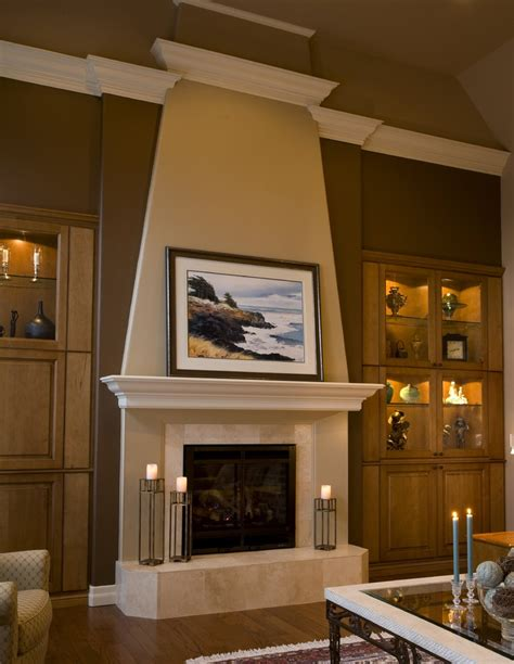 fireplace mantel designs family room traditional with