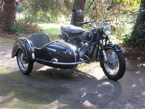 Bmw Motorcycle With Sidecar For Sale by 1965 R60 With Steib S250 Sidecar Vintage German