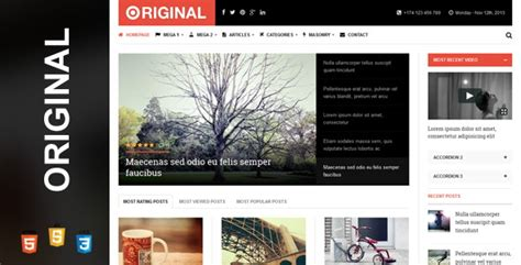 templates for magazine website 28 responsive html5 magazine website templates