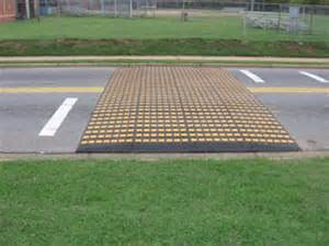 what is a speed table traffic calming in los gatos california