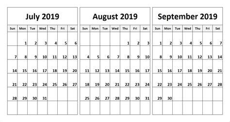 printable calendar  calendars quarterly