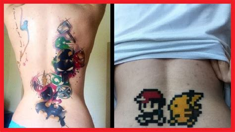 40 awesome geek tattoos youtube