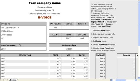 form invoice hotel freeware download sle hotel bill format in word