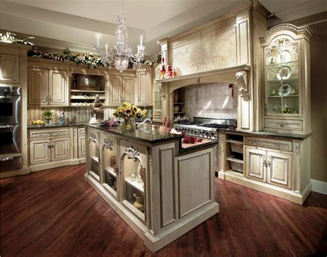 variation of playful vintage kitchen design ideas that