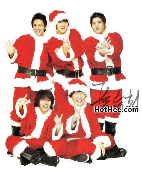 imagenes de navidad kpop super junior 2010 kyochon chicken calendar heechul for