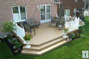 1 level diy deck plans