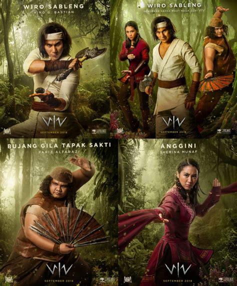 film indonesia jadul wiro sableng poster film wiro sableng rilis vino bastian cs siap