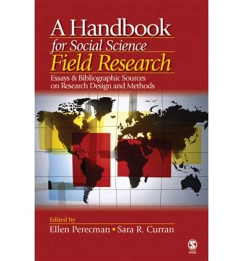 design of experiment handbook a handbook for social science field research essays and