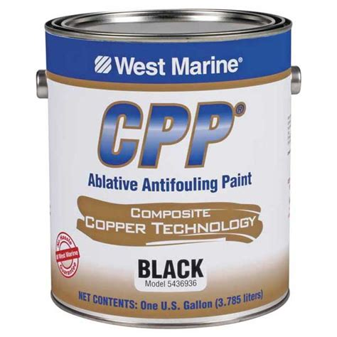 boat bottom paint salt water west marine cpp antifouling paint with cct west marine