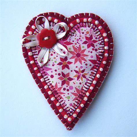Handmade Hearts - folksy quot brooch quot craftjuice handmade social network