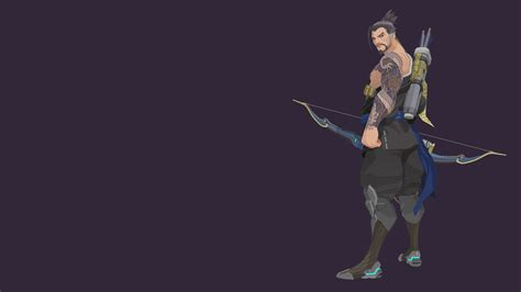 hanzo vector wallpaper 1920x1080 by sohka217 on deviantart
