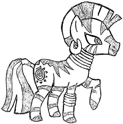 my little pony zecora coloring pages sketch zecora the zebra coloring page wecoloringpage
