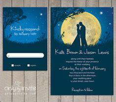 moon wedding invitations moon wedding invitations oxsvitation