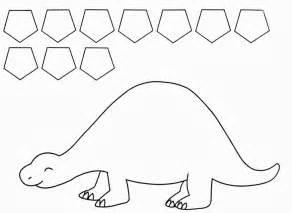twanneke dinosaur shapes pentagon shapes dinosaurs